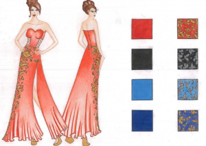 femme-robe-rouge
