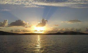 Le coucher de soleil d'Amélie