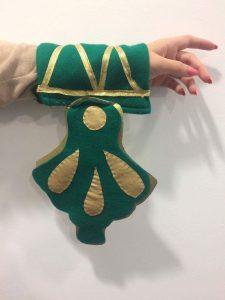 Manchette costume Aztèque